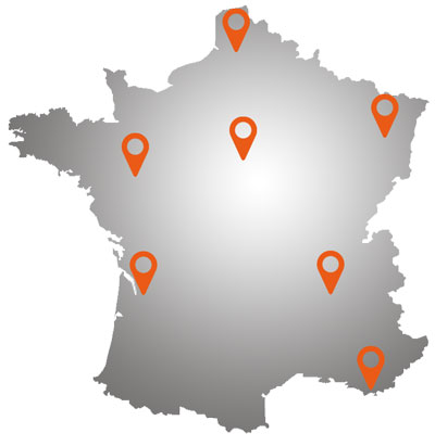 DEHO SYSTEMS 7 agences en France